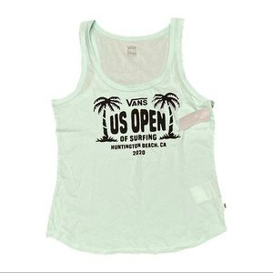 NWT Vans Women's US Open Surfing Tank Top Shirt